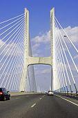 Bridge Vasco Da Gama In Portugal Europe poster