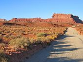 Desert Of The Valley Of The God, Monument Valley National Park, United States poster
