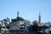 San Francisco Landmarks. poster