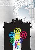 International Landmarks 3 poster