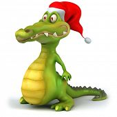 picture of santa-claus  - Crocodile - JPG