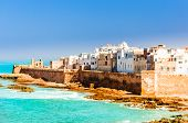 Aerial View On Old City Of Essaouira In Morocco poster