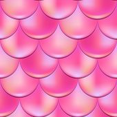 Mermaid Or Fish Scale Seamless Pattern With Holographic Effect. Pink Mermaid Vector Background. Vibr poster