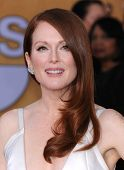 LOS ANGELES - JAN 27:  Julianne Moore arrives to the SAG Awards 2013  on January 27, 2013 in Los Ang