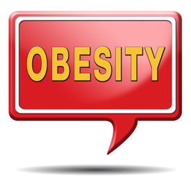 foto of obese children  - obesity prevention stop over weight start campaign with diet for obese children and adults with eating disorder - JPG