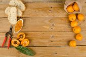 picture of loquat  - Still life with freshly harvested loquats and homemade marmalade - JPG