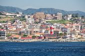 stock photo of messina  - Italian city in the Straits of Messina - JPG