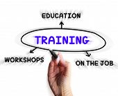 ������, ������: Training Diagram Displays Workshops Groundwork And Educating