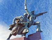 foto of hitler  - Monument to defense of Sevastopol in the second world war 1941-1942 years