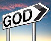 pic of salvation  - God and salvation search road to heaven religion gods way belief and praise the lord  - JPG