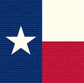picture of texas flag  - Texas Flag Texture Close up Abstract Vector Background - JPG