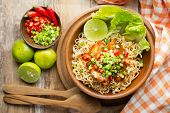 picture of noodles  - Instant noodles - JPG