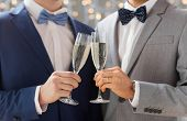 pic of gay wedding  - people - JPG