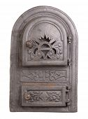 foto of furnace  - Cast iron door for furnaces - JPG