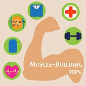 foto of muscle builder  - Muscle - JPG