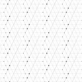 pic of dots  - Abstract geometric pattern dot with rhombuses - JPG