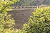 image of dam  - Dam of Valvestino Valley - JPG