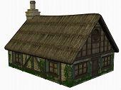 Medieval Cottage poster