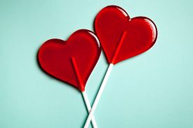 pic of lollipops  - Two lollipops - JPG