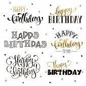 Happy Birthday Phrases poster