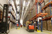 image of warehouse  - inside of warehouse - JPG