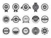 Vintage Premium Badge. Luxury High Quality Best Choice Labels Or Logos For Stamps Vector Collection  poster