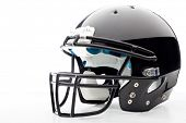 foto of headgear  - Football Helmet on white - JPG