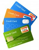 set of credit cards (jpg)