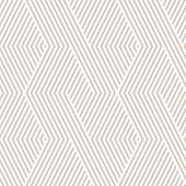 Vector Geometric Lines Pattern. White And Beige Abstract Graphic Striped Ornament. Simple Geometry,  poster