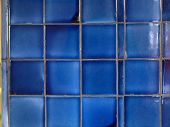 stock photo of tile cladding  - Tiles useful as a texture or background - JPG
