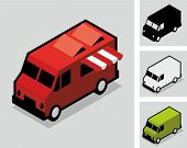 picture of food truck  - Food van - JPG