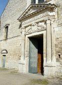 Medieval Church Door poster