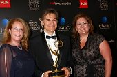 LOS ANGELES - JUN 16:  Mehmet Oz, producers in the press area at the 40th Daytime Emmy Awards at the