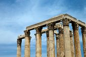Постер, плакат: Храм Зевса Афины Греция