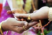 picture of mother law  - Horizontal color capture taken at a hindu wedding in Surat India - JPG