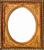 image of keepsake  - vintage gold metal picture frame for keepsake - JPG