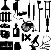 image of medical equipment  - Health Icons  - JPG