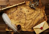 stock photo of spyglass  - Sextant - JPG