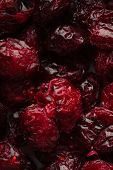 Diet Healthy Food. Dried Cranberries Cranberry Fruit As Background