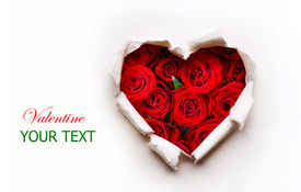 stock photo of valentine card  - Valentine Heart Art Design - JPG