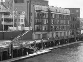 City Harbor Decks Buildings  poster