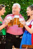 picture of lederhosen  - In Beer garden  - JPG