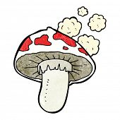 foto of toadstools  - cartoon toadstool - JPG