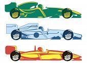 Постер, плакат: Racing Cars