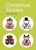 picture of rudolph  - Christmas Teddy bears icons - JPG