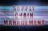 pic of supply chain  - Supply Chain Management on a Business Chart - JPG