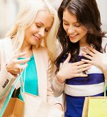 stock photo of overspending  - shopping and tourism concept  - JPG