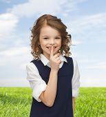 stock photo of hush  - people - JPG