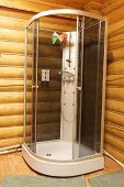 foto of shower-cubicle  - New beautiful shower cubicle  - JPG