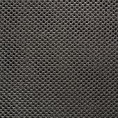 pic of fishnet  - Dark gray fishnet cloth material fragment as a texture background - JPG